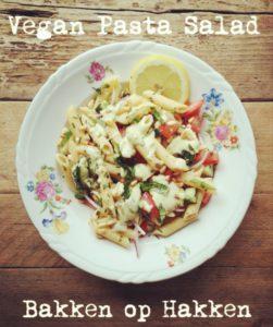 bakken op hakken pasta salade