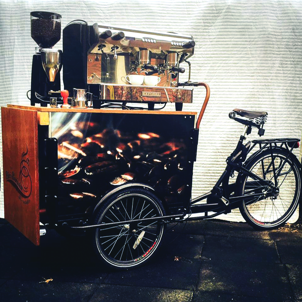 Bici Barista bakfiets foodtruck