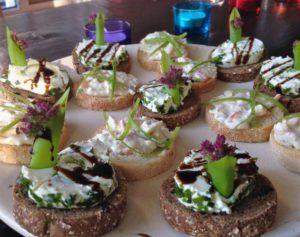 catering hapjes van Sapori di casa