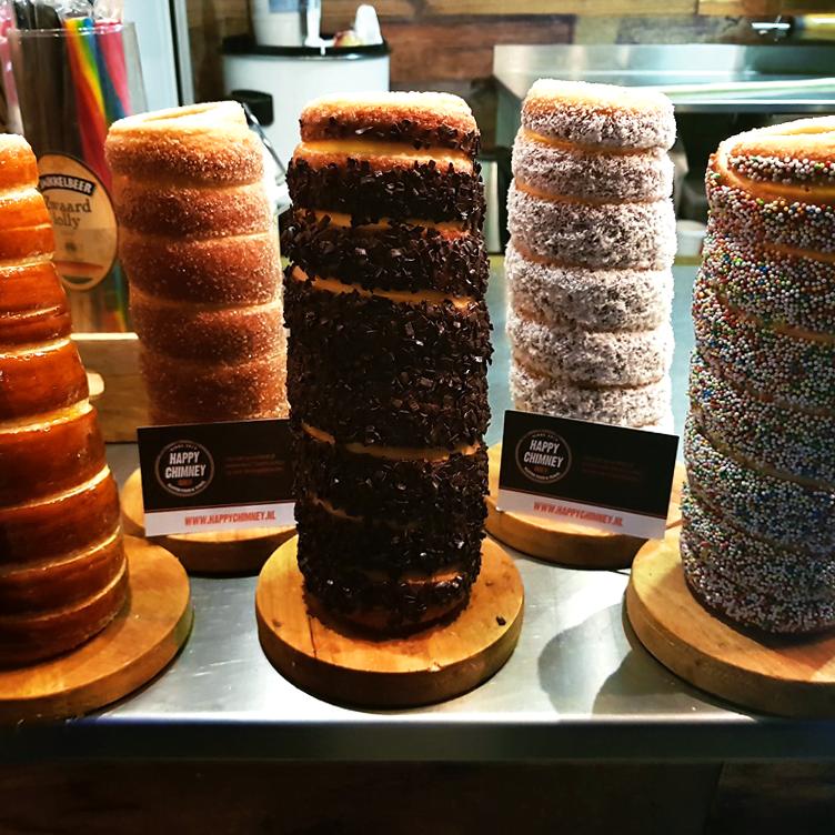 Chimney cake dessert food truck