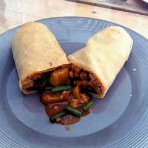 Kip roti rol van Latin Food 4 You