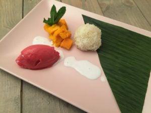 Dessert van Seb's Kitchen catering