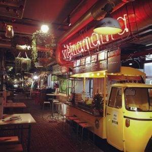 Piaggio Ape Food Truck van Vietnamama